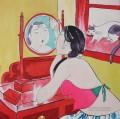 Mirror 70X70CM USD65