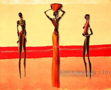 Toperfect Originals Painting - decor 3 indian girls wall decor original
