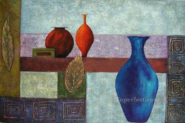 Toperfect Originals Painting - decor 3 jars wall decor original