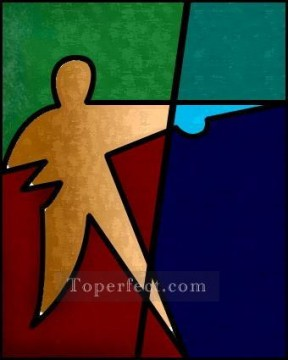 Toperfect Originals Painting - geometrical figure wall decor original