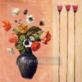 Toperfect Originals Painting - kinds of flowers original decorated