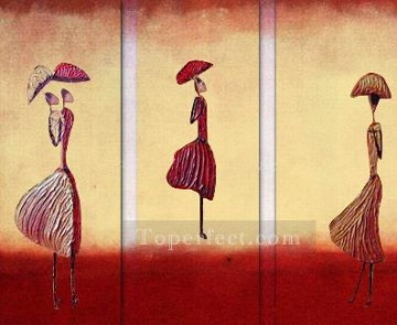 Toperfect Originals Painting - umbrellas