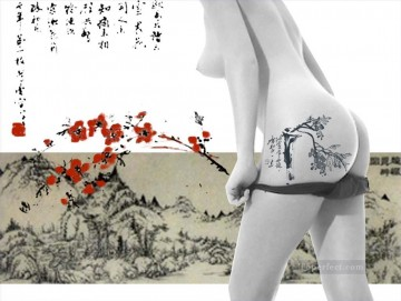 Chinese painting nude original Oil Paintings