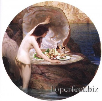 Toperfect Originals Painting - Nude and cate changed from Draper Herbert revision of classics