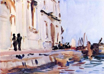 watercolour Oil Painting - AllAve Maria boat John Singer Sargent watercolour