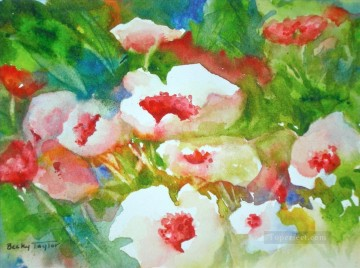 BT flower watercolour Oil Paintings