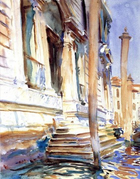 watercolor Deco Art - Doorway of a Venetian Palace John Singer Sargent watercolor