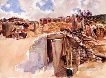 Dugout John Singer Sargent watercolour Oil Paintings
