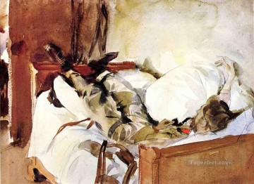 Watercolor Painting - In Switzerland John Singer Sargent watercolour
