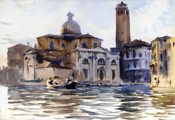 Palazzo Labbia Venice John Singer Sargent watercolor Oil Paintings