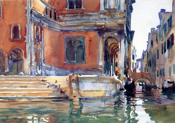 Scuola di San Rocco John Singer Sargent watercolor Oil Paintings