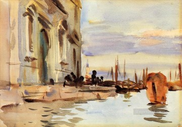 Spirito Santo Saattera aka Venice Zattere John Singer Sargent watercolour Oil Paintings