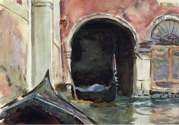 Venetian Canal2 John Singer Sargent watercolour Oil Paintings