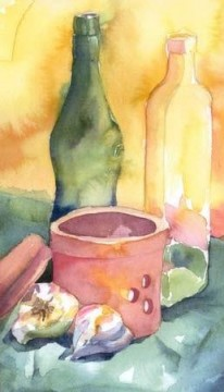 Watercolor Painting - sc112 water color