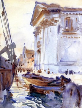 watercolor Painting - I Gesuati John Singer Sargent watercolor