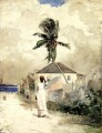 Along the Road Bahamas Winslow Homer watercolour