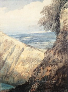 Dors scenery Thomas Girtin watercolour Oil Paintings