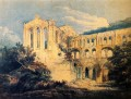 Rievaulx Abbey Yorkshire scenery Thomas Girtin watercolor