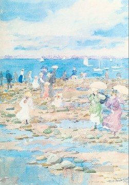 Summer Vis Maurice Prendergast watercolour Oil Paintings