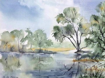 Watercolor Painting - sc016 water color