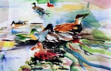 sc047 water color Oil Paintings