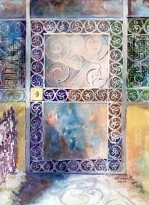 sc109 water color Oil Paintings