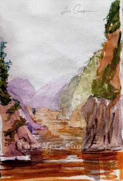 Watercolor Painting - sc141 water color