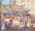 Madison Square Maurice Prendergast watercolor