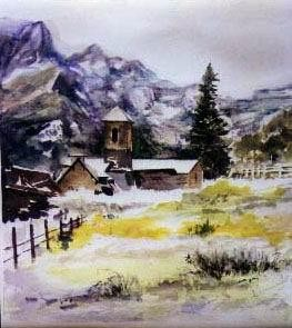 Watercolor Painting - sc101 water color