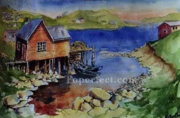 Watercolor Painting - sc082 water color