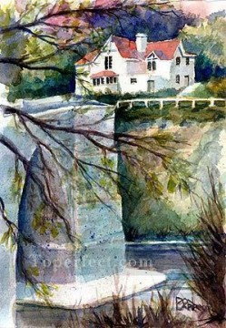 Watercolor Painting - sc136 water color