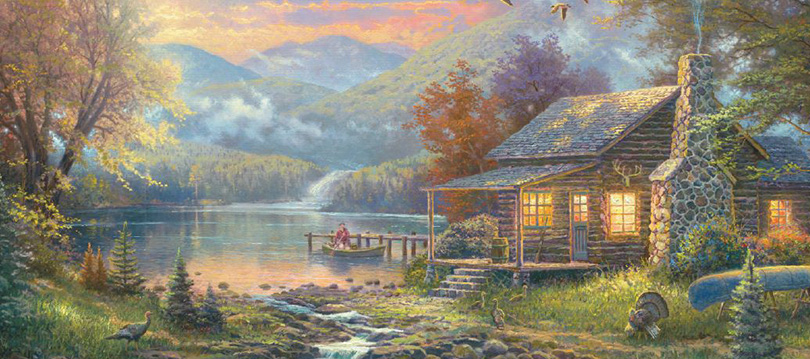 Thomas Kinkade biography