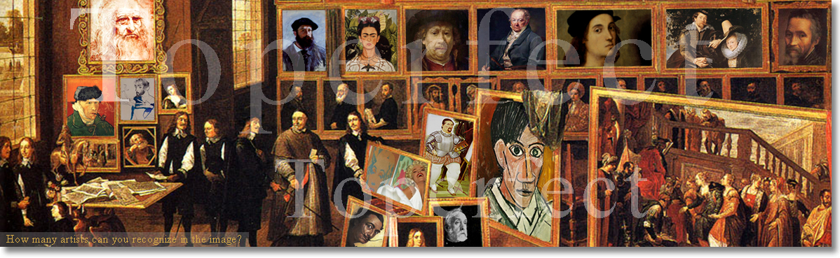 list of famous painters in the world