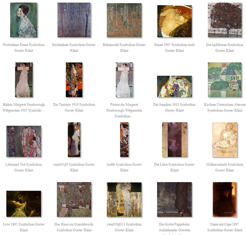 paintings of Klimt