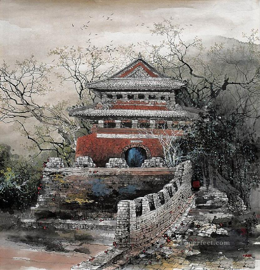 Li Xiaotian 2 traditional Chinese Oil Paintings