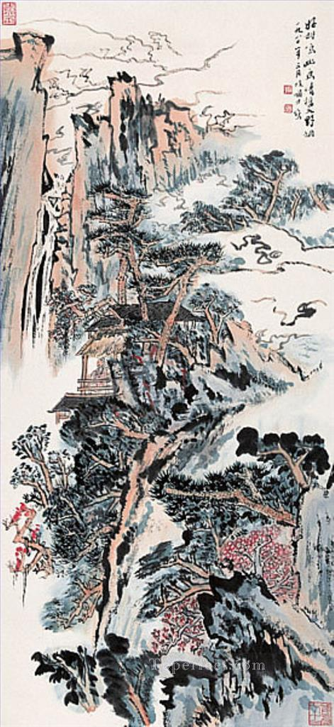 Lu Yanshao 10 traditional Chinese Oil Paintings
