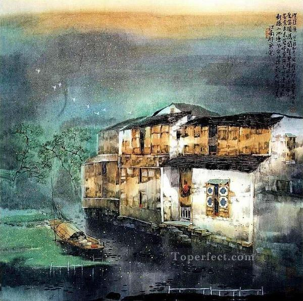 Ru Feng South China 5 Oil Paintings