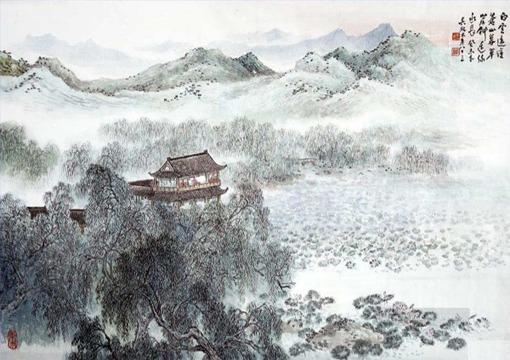 Wu yangmu 7 old Chinese Oil Paintings