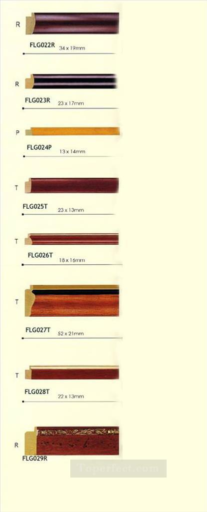 frlg002 log picture frame Oil Paintings