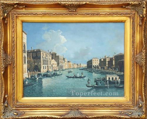 WB 13 antique oil painting frame corner Painting in Oil for Sale