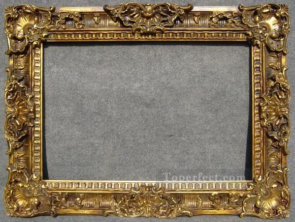 WB 225 antique oil painting frame corner Painting in Oil for Sale