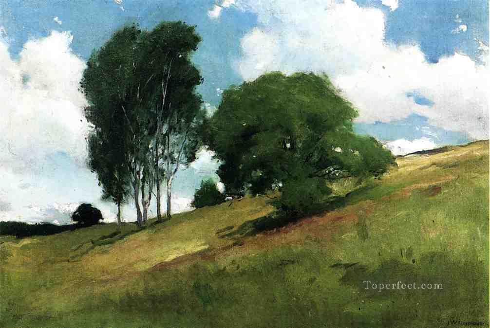 Landscape Painted at Cornish New Hampshire John White Alexander Oil Paintings