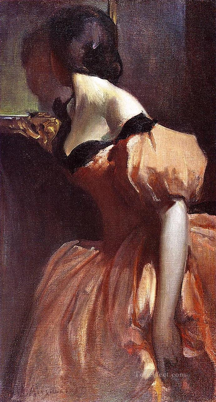 Fancy Dress John White Alexander Oil Paintings