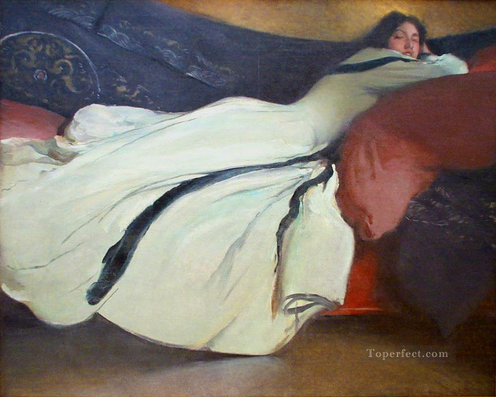 Repose John White Alexander Oil Paintings