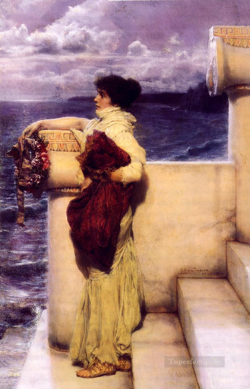 Hero 1898 Romantic Sir Lawrence Alma Tadema Oil Paintings