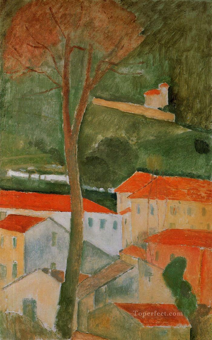 landscape Amedeo Modigliani Oil Paintings
