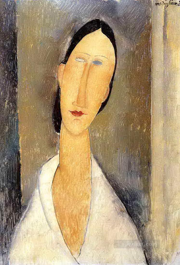 hanka zborowska 1919 Amedeo Modigliani Oil Paintings