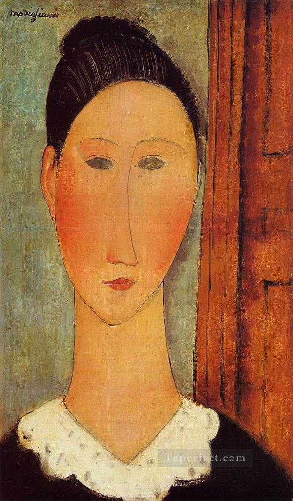 head of a girl Amedeo Modigliani Oil Paintings