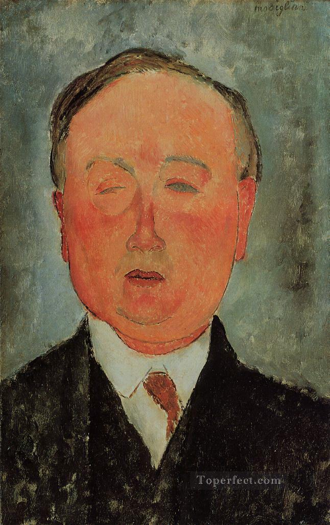 the man with the monocle Amedeo Modigliani Oil Paintings
