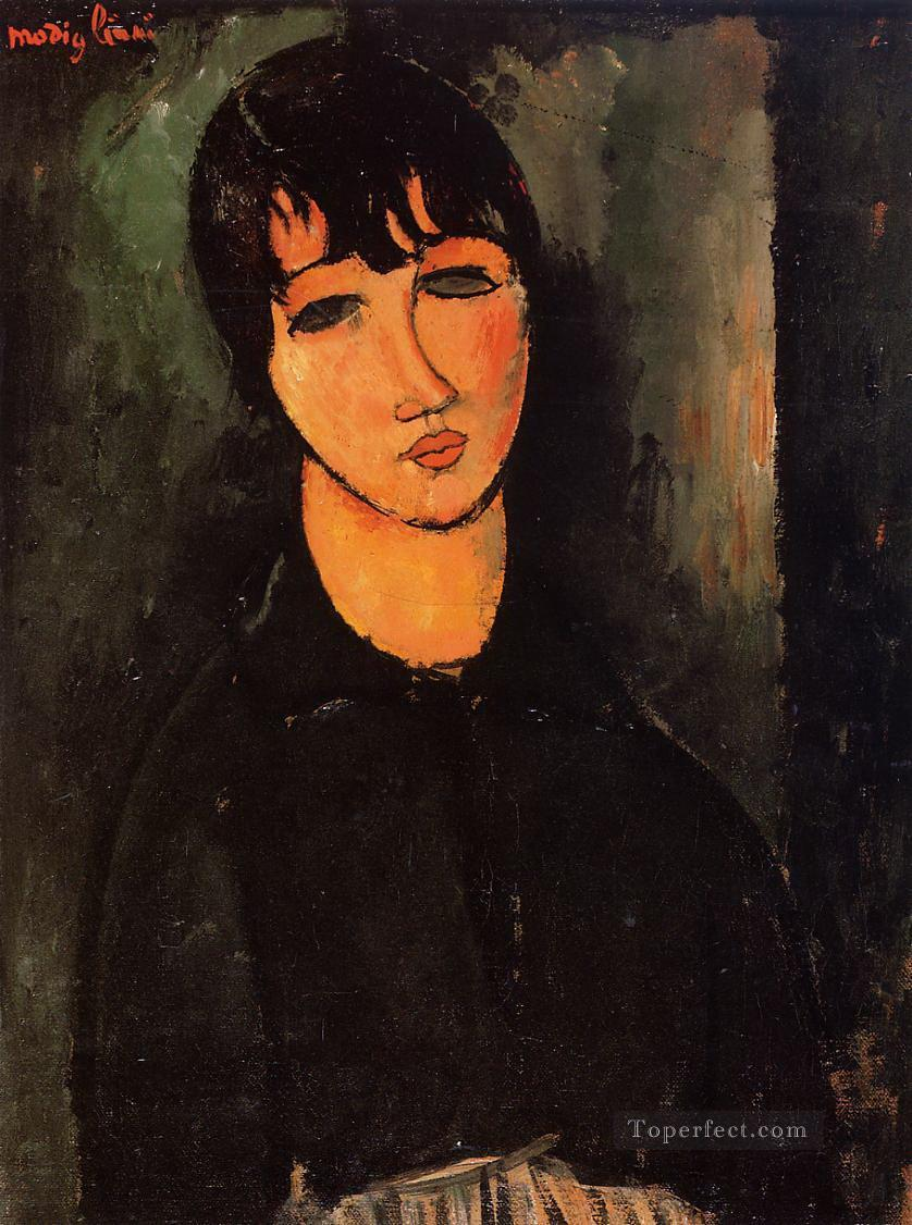 the servant 1916 Amedeo Modigliani Oil Paintings